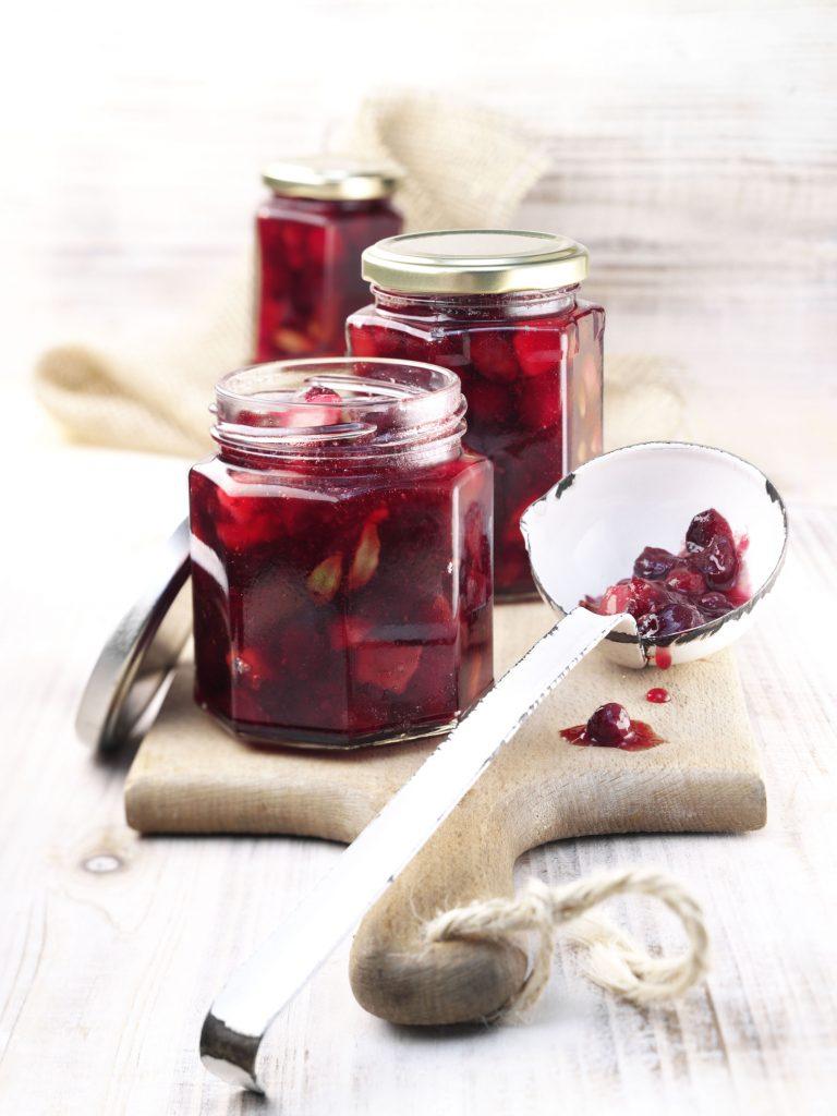 Cranberry-Birnen-Marmelade